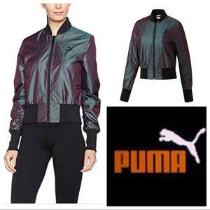 Puma Iridescent Mini Bomber Jacket